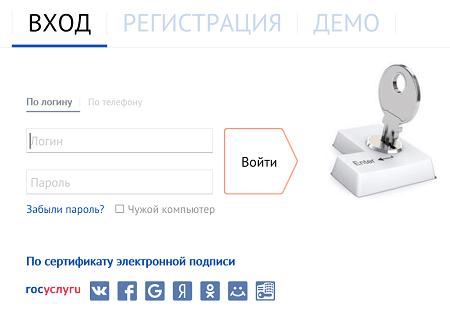 СБИС - личный кабинет