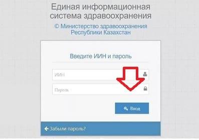 ЕИСЗ РПН (rpn.eisz.kz) — вход в систему «Регистр прикрепленного населения»